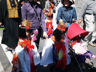 花祭り稚児行列5