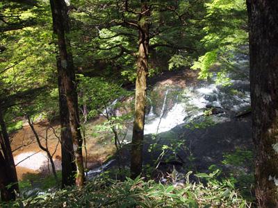 上から小滝