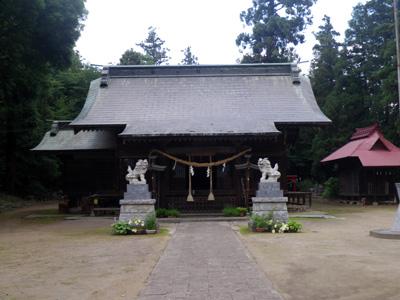 二ノ宮赤城神社拝殿