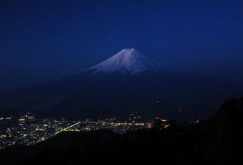 夜明けの富士さん05fuji - コピー