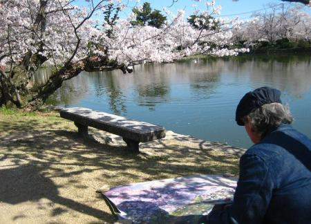 小城公園の桜 057