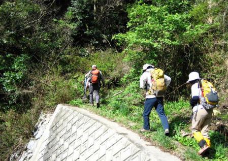 洗い谷コース 002