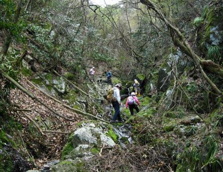 洗い谷コース 159