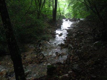 清水とから迫岳 117