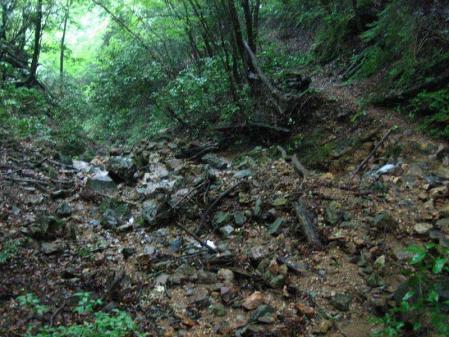 清水とから迫岳 116