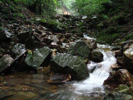 清水とから迫岳 111