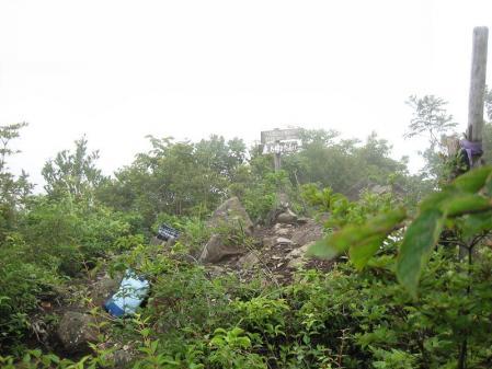清水とから迫岳 209