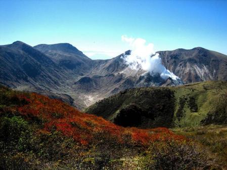 三俣山の紅葉 091