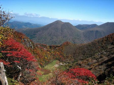 三俣山の紅葉 107
