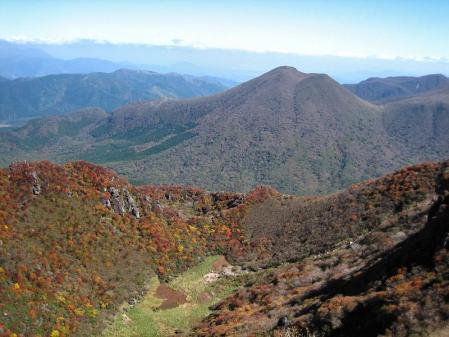 三俣山の紅葉 094
