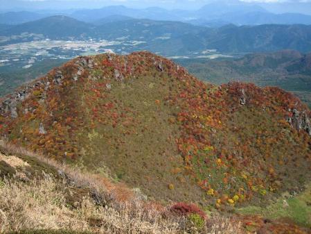 三俣山の紅葉 093