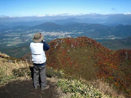 三俣山の紅葉 092