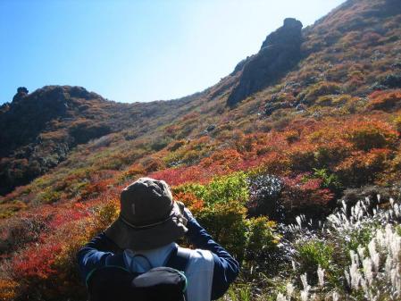 三俣山の紅葉 120