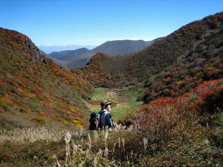 三俣山の紅葉 118