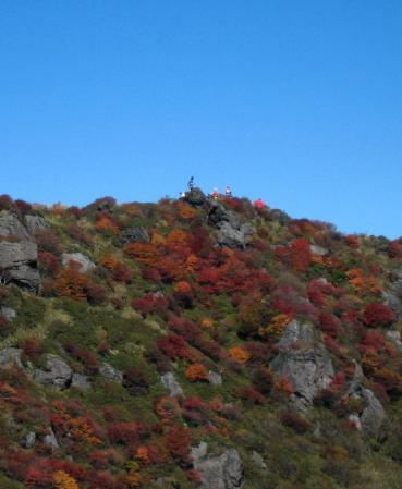 三俣山の紅葉 116