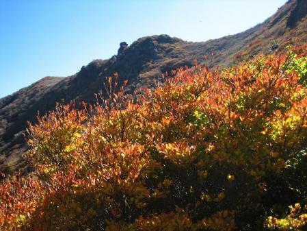三俣山の紅葉 129