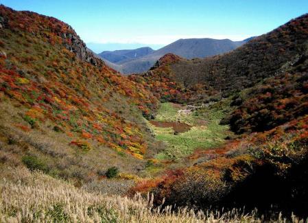 三俣山の紅葉 122