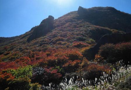 三俣山の紅葉 121