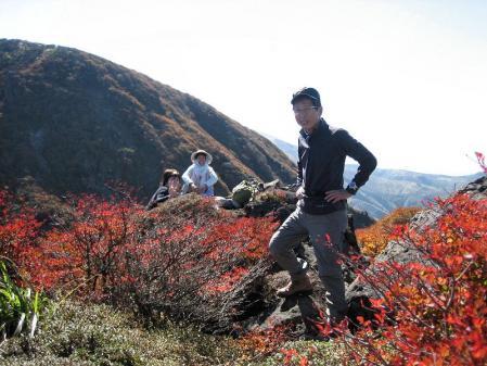 三俣山の紅葉 165