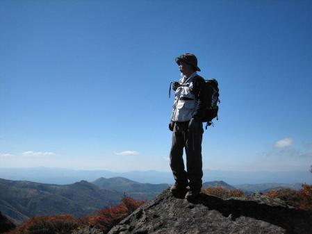 三俣山の紅葉 156