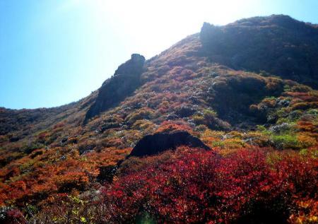 三俣山の紅葉 137