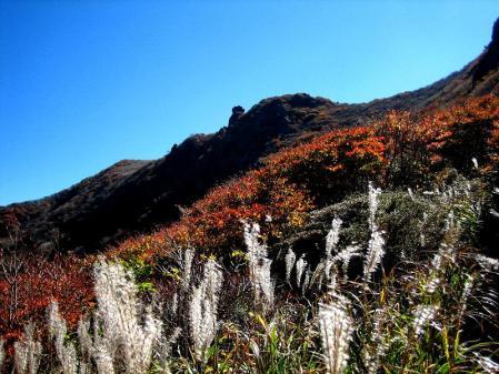 三俣山の紅葉 133