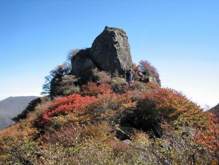 三俣山の紅葉 184