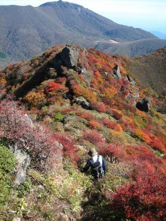 三俣山の紅葉 183
