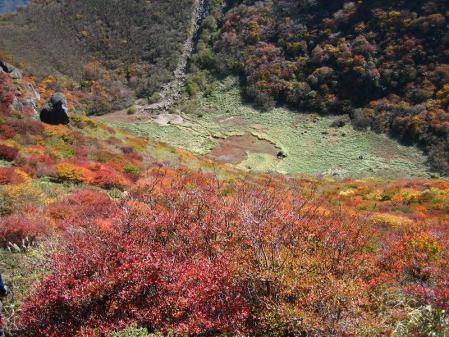三俣山の紅葉 182
