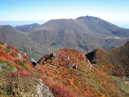 三俣山の紅葉 181
