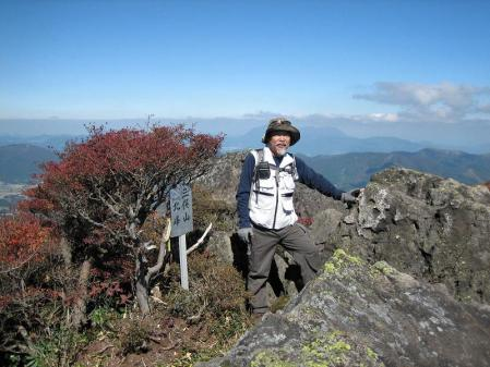 三俣山の紅葉 170
