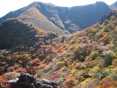 三俣山の紅葉 190