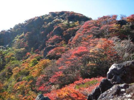 三俣山の紅葉 189