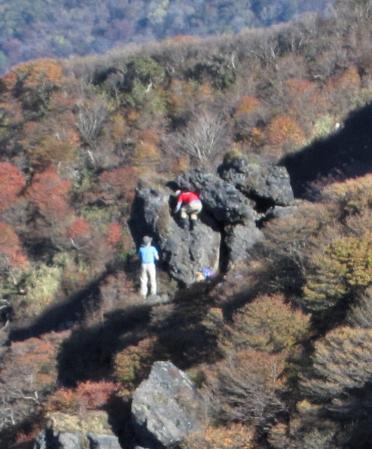 三俣山の紅葉 253