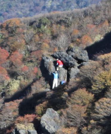 三俣山の紅葉 254