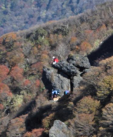 三俣山の紅葉 246