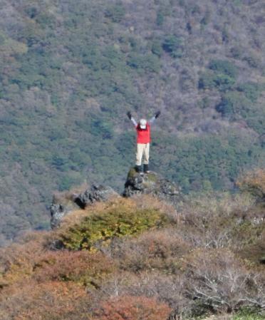 三俣山の紅葉 240