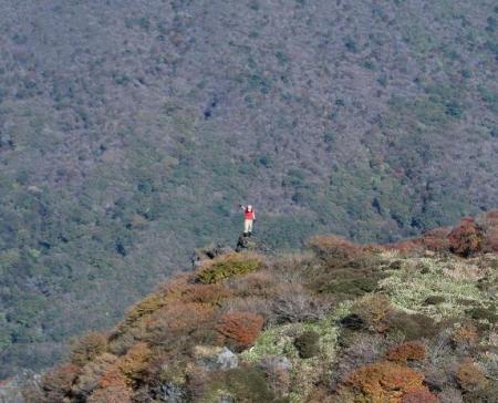 三俣山の紅葉 239