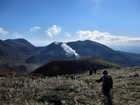 三俣山の紅葉 264