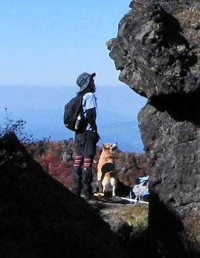 三俣山の紅葉 225