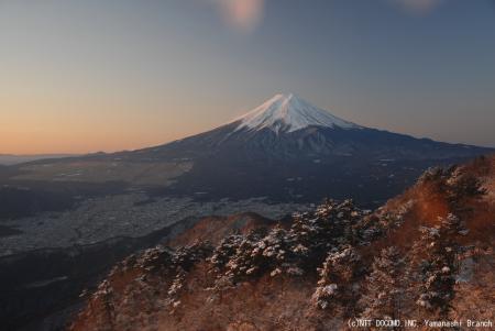 今朝の富士山2 07fuji