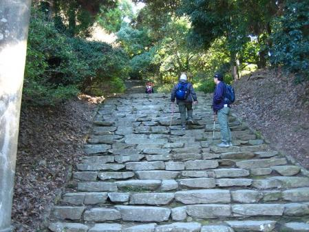 高良山ウォーキング 200