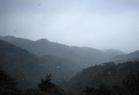 小岱山の雪 170