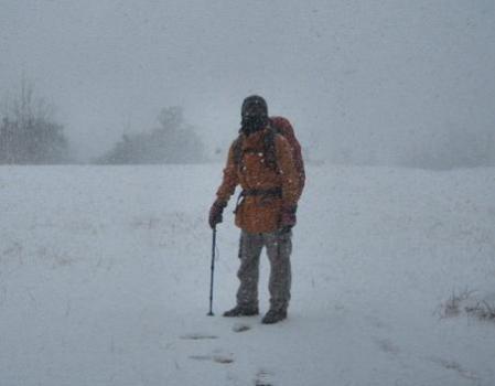 小岱山の雪 188