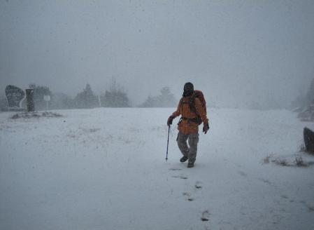 小岱山の雪 187