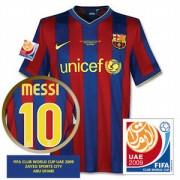 バルセロナ09-10ホームユニフォーム2009CWC