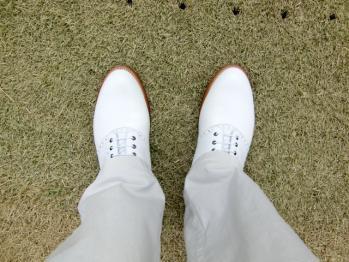靴デビュー