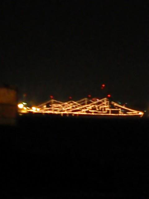 艦艇のイルミネーション2