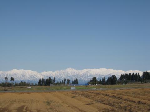 立山連峰20120408その1
