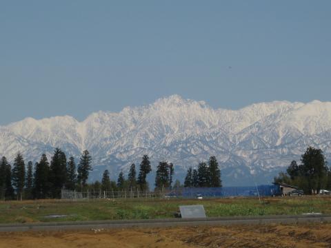 立山連峰20120408その2
